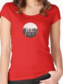 British Columbia Canada Women's Fitted Scoop T-Shirt