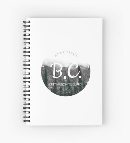 British Columbia Canada Spiral Notebook