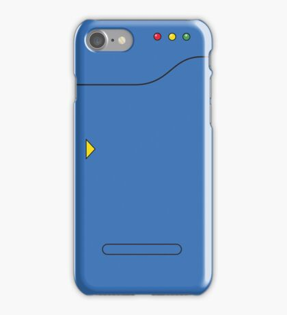 Pokedex - Blue iPhone Case/Skin