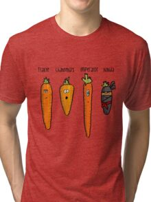 Types of carrot Tri-blend T-Shirt