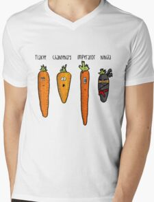 Types of carrot Mens V-Neck T-Shirt