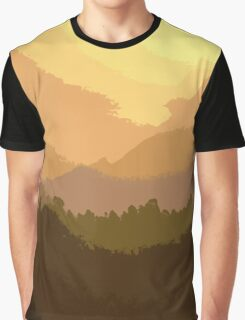 Sunset Hues Graphic T-Shirt