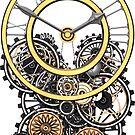 Stylish Vintage Steampunk Timepiece by Steve Crompton