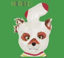 Fantastic Mr Fox ASH fox print One Piece - Short Sleeve
