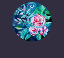 Tropical Camellia Extravaganza - oil on canvas Womens Fitted T-Shirt