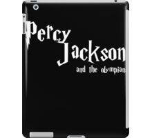PJ - and the olympians iPad Case/Skin