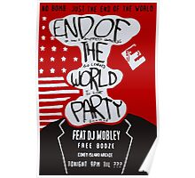 MR ROBOT: END OF THE WORLD PARTY Poster