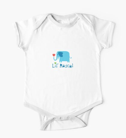 Elephant Lil Rascal blue Kids Clothes