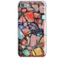 Abstract of Blue Willow China Pattern iPhone Case/Skin
