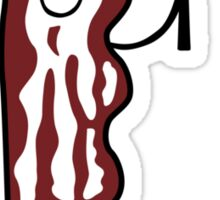 I love bacon Sticker