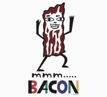 mmm Bacon One Piece - Short Sleeve