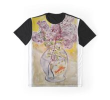 Lilacs in Fishbowl  Graphic T-Shirt