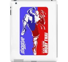 lee sin muay thai fighter thailand martial art sport logo badge sticker shirt iPad Case/Skin