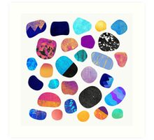 Magic Stones Art Print