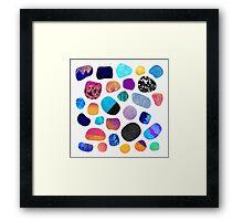 Magic Stones Framed Print