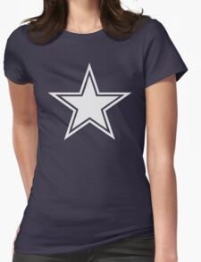 5 Point Star Womens Fitted T-Shirt