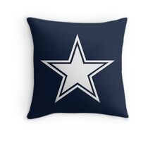 5 Point Star Throw Pillow