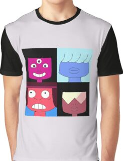 Faces of Garnet Graphic T-Shirt