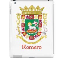 Romero Shield of Puerto Rico iPad Case/Skin