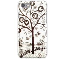 The Earth Laughs in Flowers iPhone Case/Skin