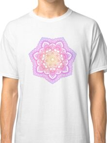 Sunset Mandala Classic T-Shirt