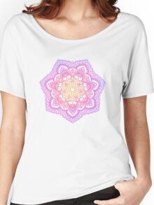 Sunset Mandala Women's Relaxed Fit T-Shirt