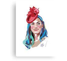 Princess Kate Canvas Print