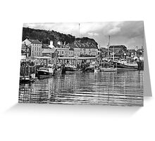 The Fish Quay, Whitby Greeting Card