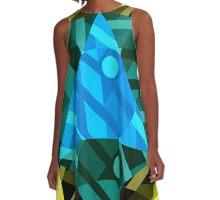 14-06-046b A-Line Dress