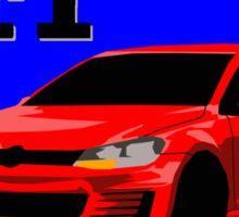 Volkswagen Golf GTI Sticker