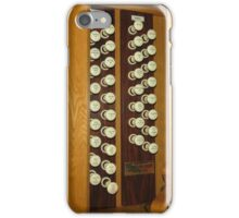 Organ Stops - Exeter Cathedral iPhone Case/Skin