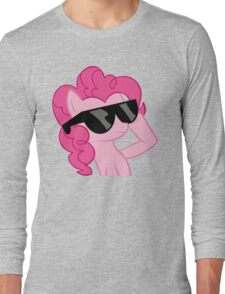 pinkie pie is cool Long Sleeve T-Shirt