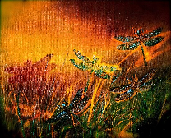 Dragonfly...Towards The Light 2 by ©Janis Zroback