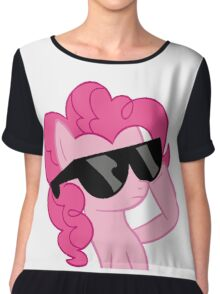 pinkie pie is cool Chiffon Top