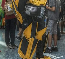 Yellow Robot by Kevin Gallagher