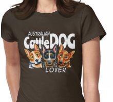 Australian Cattle Dog Lover (Dark) Womens Fitted T-Shirt