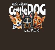 Australian Cattle Dog Lover (Dark) Womens Fitted T-Shirt