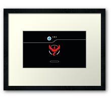 Valor Pokedex Framed Print