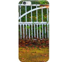 The Gate (Lomo Russian toy camera lens) iPhone Case/Skin
