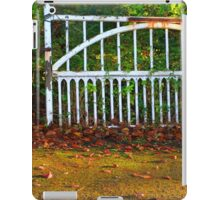 The Gate (Lomo Russian toy camera lens) iPad Case/Skin