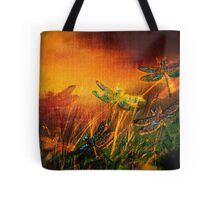 Dragonfly...Towards The Light 2 Tote Bag