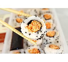Let Me See That Sushi Roll! Photographic Print