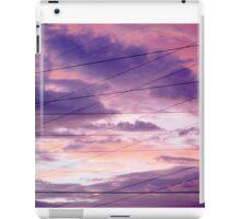 Pink & Purple Clouds/Semi Abstract iPad Case/Skin