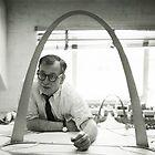 Eero Saarinen Designing the Arch by hourglasssusie