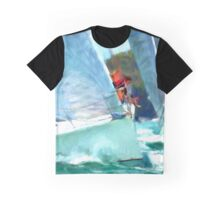 Sailing Eight  Graphic T-Shirt
