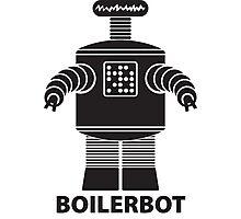 BOILERBOT (black) Photographic Print