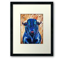 Vincent the Bull Framed Print