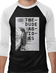 THE DUDE ABIDES (THE BIG LEBOWSKI) Men's Baseball ¾ T-Shirt