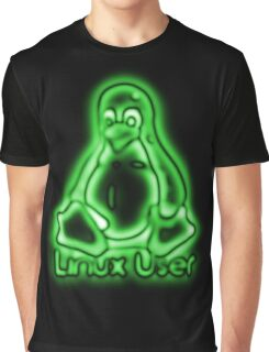 Linux User Graphic T-Shirt