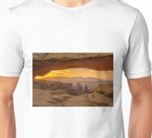 Sunrise in Canyonlands National Park, Utah. Unisex T-Shirt